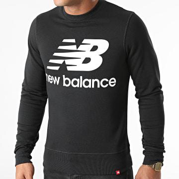 New Balance - Sweat Crewneck MT03560 Noir