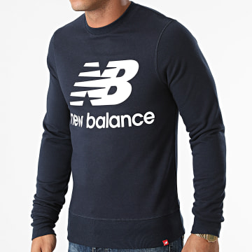 New Balance - Sweat Crewneck MT03560 Bleu Marine