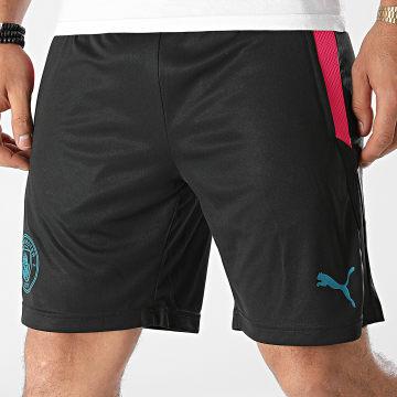Puma - Short Jogging Manchester City 764473 Noir