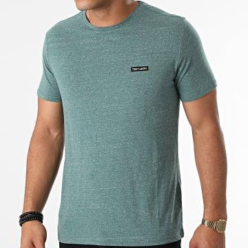 Teddy Smith - Tee Shirt Nark Vert Chiné