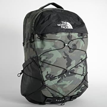 The North Face - Sac A Dos Camouflage Borealis A52SE Vert Kaki Noir
