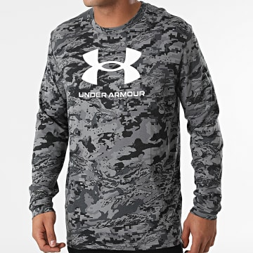 Under Armour - Tee Shirt Manches Longues UA ABC 1366466 Gris Camouflage