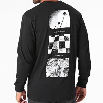 Vans - Tee Shirt Manches Longues Snapshots A5EAD Noir