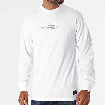 Vans - Tee Shirt Manches Longues Sequence A5FQP Blanc