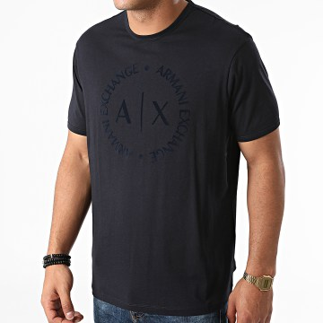 Armani Exchange - Tee Shirt 8NZTCD-Z8H4Z Bleu Marine