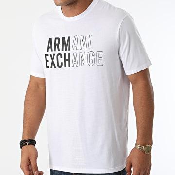 Armani Exchange - Tee Shirt 6KZTFC-ZJH4Z Blanc