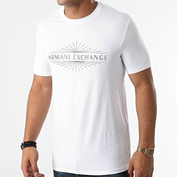Armani Exchange - Tee Shirt A Strass 6KZTGG-ZJE6Z Blanc