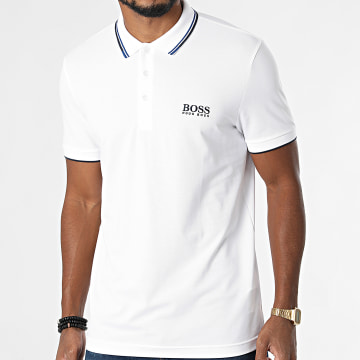 BOSS - Polo Manches Courtes Paddy Pro 50430796 Blanc