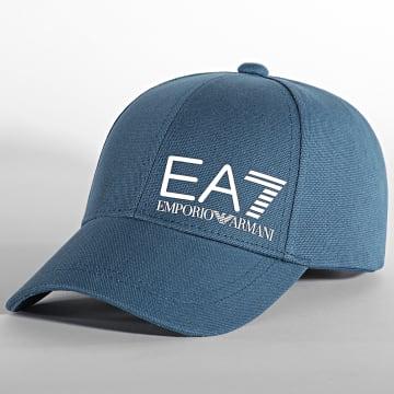 EA7 Emporio Armani - Casquette 275936-0P010 Bleu Pétrole