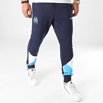 Puma - Pantalon Jogging OM 764421 Bleu Marine