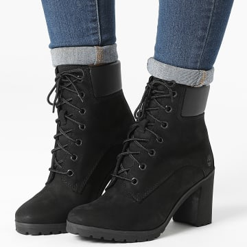 Timberland - Boots Femme Allington 6 Inch A1JVB Black Nubuck