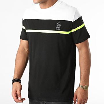 FFF - Tee Shirt F21030 Noir Blanc
