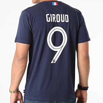 FFF - Tee Shirt F21011 Giroud Bleu Marine
