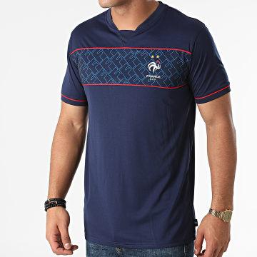 FFF - Tee Shirt Fan F21012C Bleu Marine