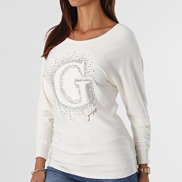 Guess - Pull Femme W1BR09 Beige