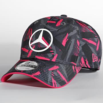 New Era - Casquette Mercedes-Benz Grand Prix 60143458 Gris Rose