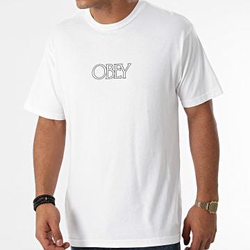 Obey - Tee Shirt Obey Regal Blanc