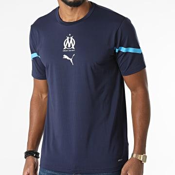 Puma - Tee Shirt De Sport OM 759533 Bleu Marine