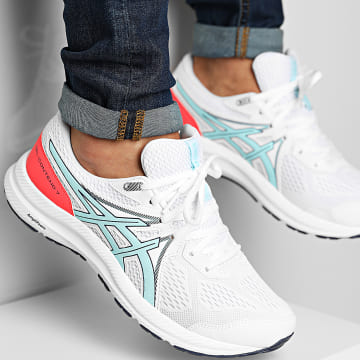 Asics - Baskets Gel Contend 7 1012A911 White Clear Blue