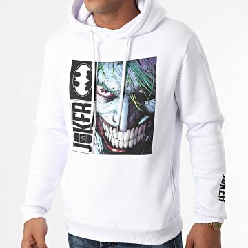 DC Comics - Sweat Capuche The Joker Blanc