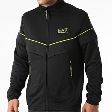 EA7 Emporio Armani - Veste Zippée 6KPM32-PJ16Z Noir