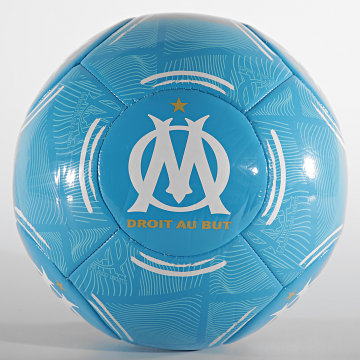 OM - Ballon De Foot Phantom XIV M21065 Bleu Clair