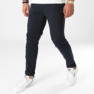 Only And Sons - Pantalon Chino Pete Life Bleu Marine