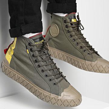 Palladium - Boots Palla Ace Supply Mid 77179 Olive Night