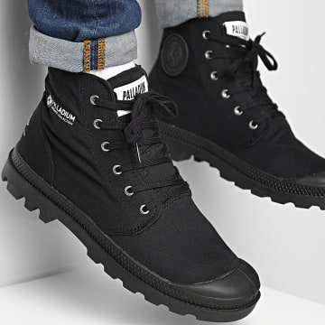 Palladium - Boots Pampa Hi Organic II 77100 Black Black