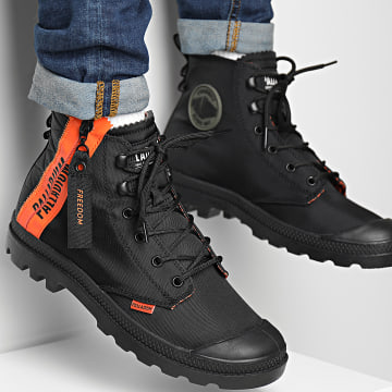 Palladium - Boots Pampa Unlocked 77239 Black Black