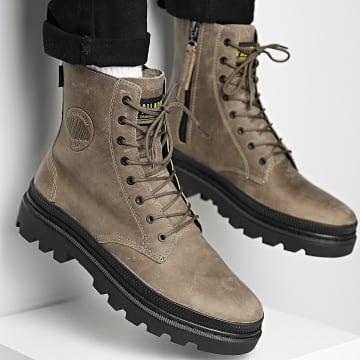 Palladium - Boots Pallatrooper Off-3 77206 Dune