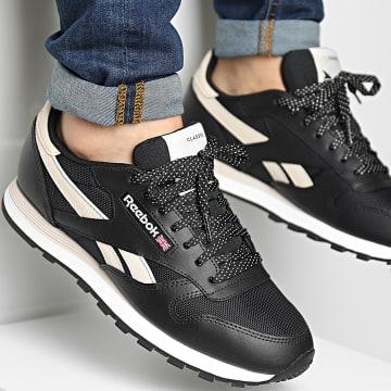 Reebok - Baskets Classic Leather H67950 Core Black Stucco Footwear White