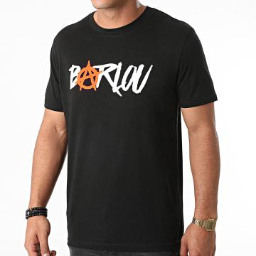 Seth Gueko - Tee Shirt Barlou Chest Neon Orange Noir
