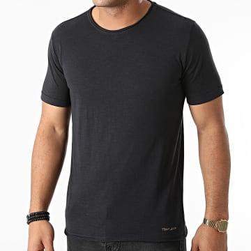Teddy Smith - Tee Shirt Turos Noir Chiné