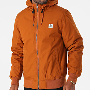 Element - Veste Zippée Capuche Dulcey Orange
