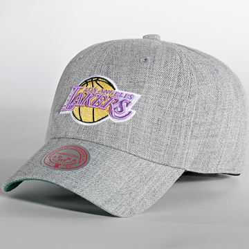 Mitchell and Ness - Casquette Team Heather Los Angeles Lakers Gris Chiné