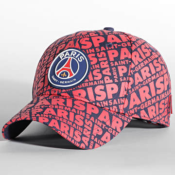 PSG - Casquette All Over PSG Rouge