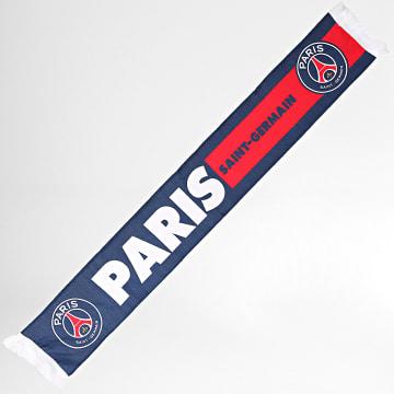PSG - Echarpe Paris Saint-Germain P14196 Bleu Marine