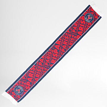 PSG - Echarpe PSG All Over P14194 Bleu Marine Rouge