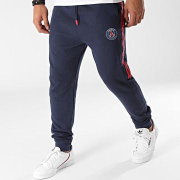 PSG - Pantalon Jogging A Bandes P14131 Bleu Marine
