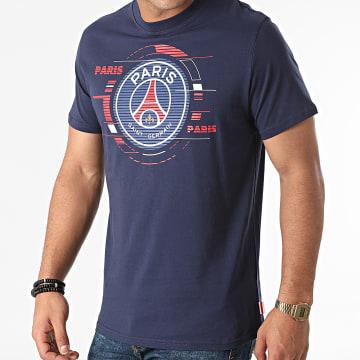 PSG - Tee Shirt Big Logo P14123C Bleu Marine