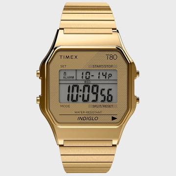 Timex - Montre T80 TW2R79000LU Doré