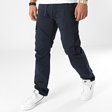Tom Tailor - Pantalon Cargo 1027220-XX-12 Bleu Marine