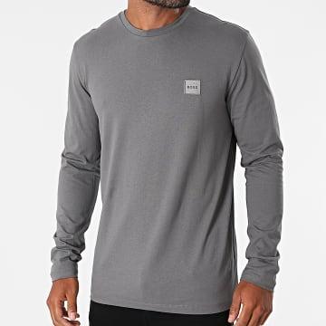 BOSS - Tee Shirt Manches Longues 50462767 Gris