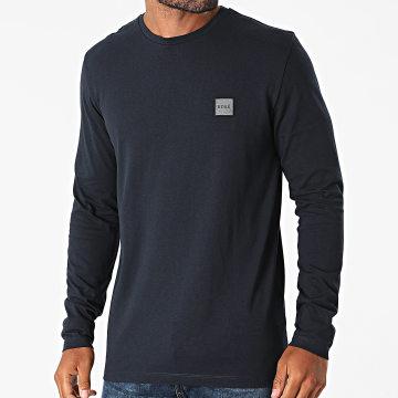 BOSS - Tee Shirt Manches Longues 50462772 Bleu Marine