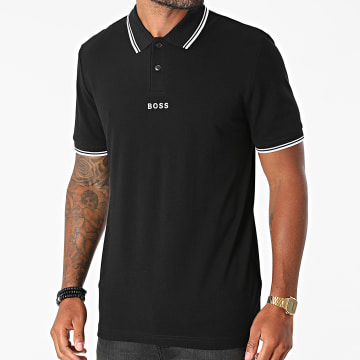 BOSS - Polo Manches Courtes 50462833 Noir