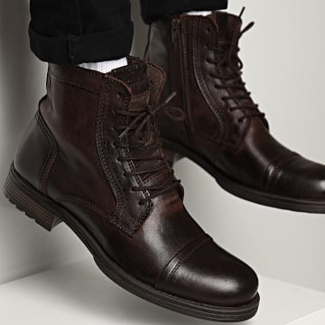 Jack And Jones - Boots Russel Brown Stone