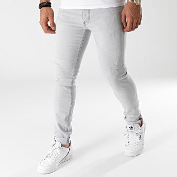Paname Brothers - Jean Slim PB-Jeans-16 Gris
