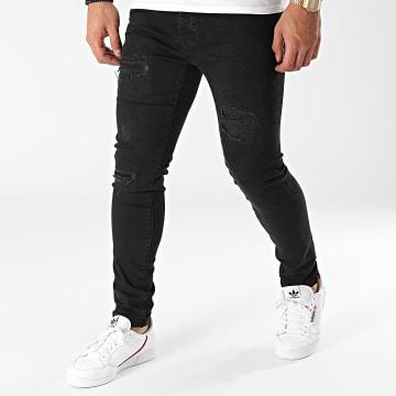Paname Brothers - Jean Slim PB-Jeans-11 Noir