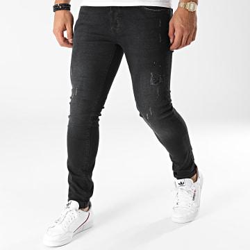 Paname Brothers - Jean Slim PB-Jeans-01 Noir